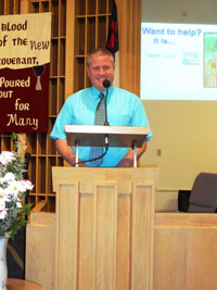 Jim Brown : Director of Music Ministries